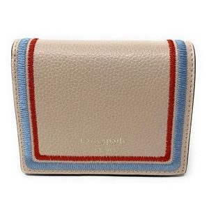 Kate Spade Eva Embroidered Small Bifold Wallet